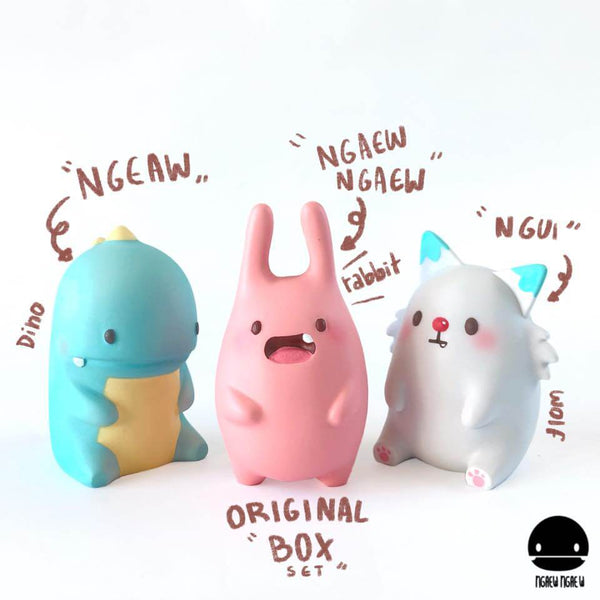 Ngaew original box set resin by Pang Ngaew