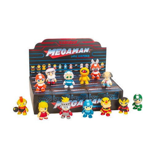 Mega Man Blind Box Mini series By KidRobot