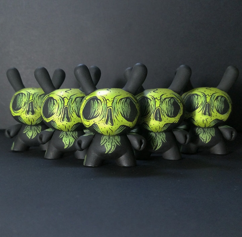 Atomic Fiend Dunnys Green x Cat Atomic x Strangecat Exclusive