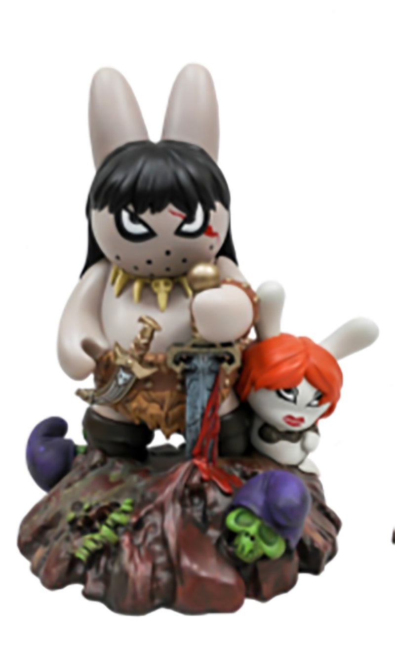 Labbit the Barbarian x Frank Kozik