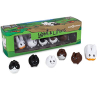 "Vinyl 1.5"" Labbit with Littons 6-Pack"