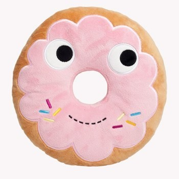 "YUMMY WORLD 10"" Pink Donut Plush"