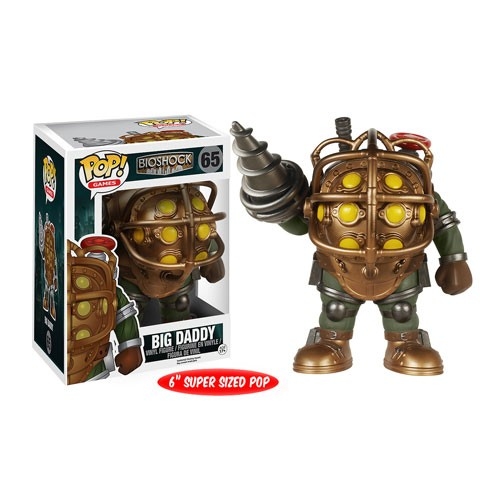 BioShock Big Daddy 6-Inch Pop! Vinyl Figure