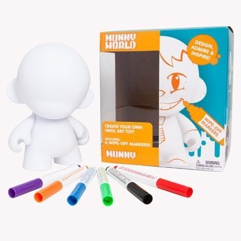 "Kidrobot - MUNNY WORLD 7"" MUNNY w/ 6 Reusable Markers"