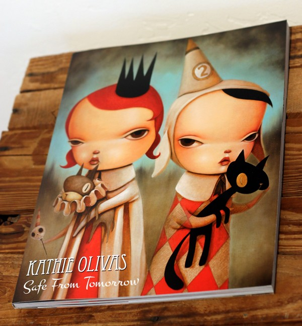 Safe from Tomorrow Art Book by Kathie Olivas