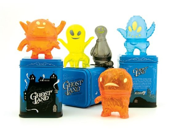 Ghost-Land Mini Figures by Super7