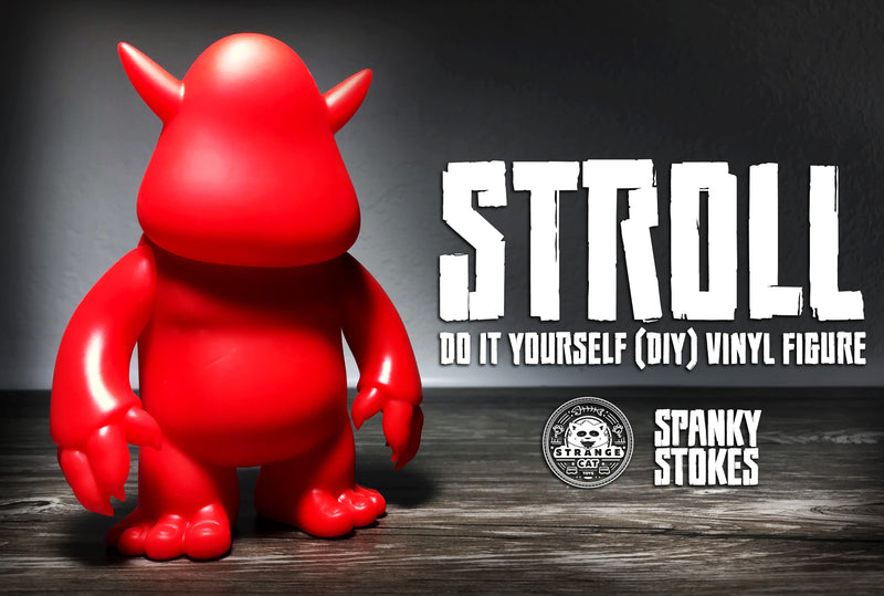 Stroll DIY Red Vinyl by Spanky Stokes