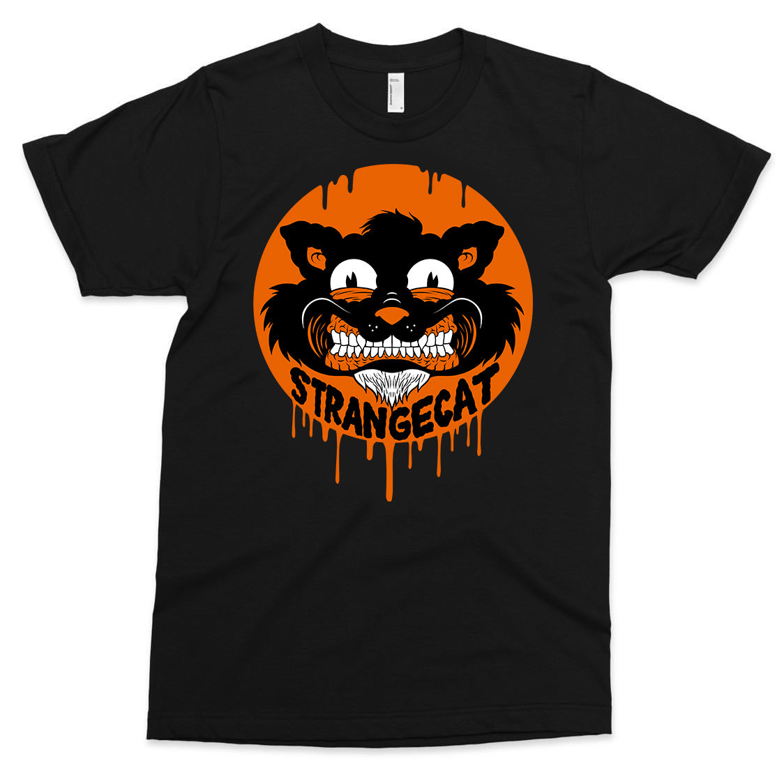 Strangecat Spooky Shirt by Alex Pardee
