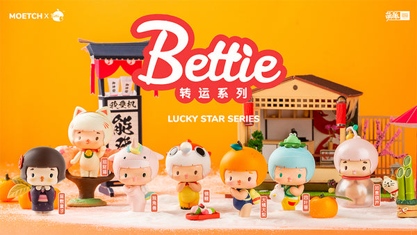 Bettie Lucky Star Blind Box series - Preorder