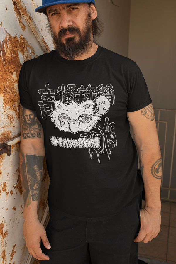 Strangecat Shirt by Mumbot