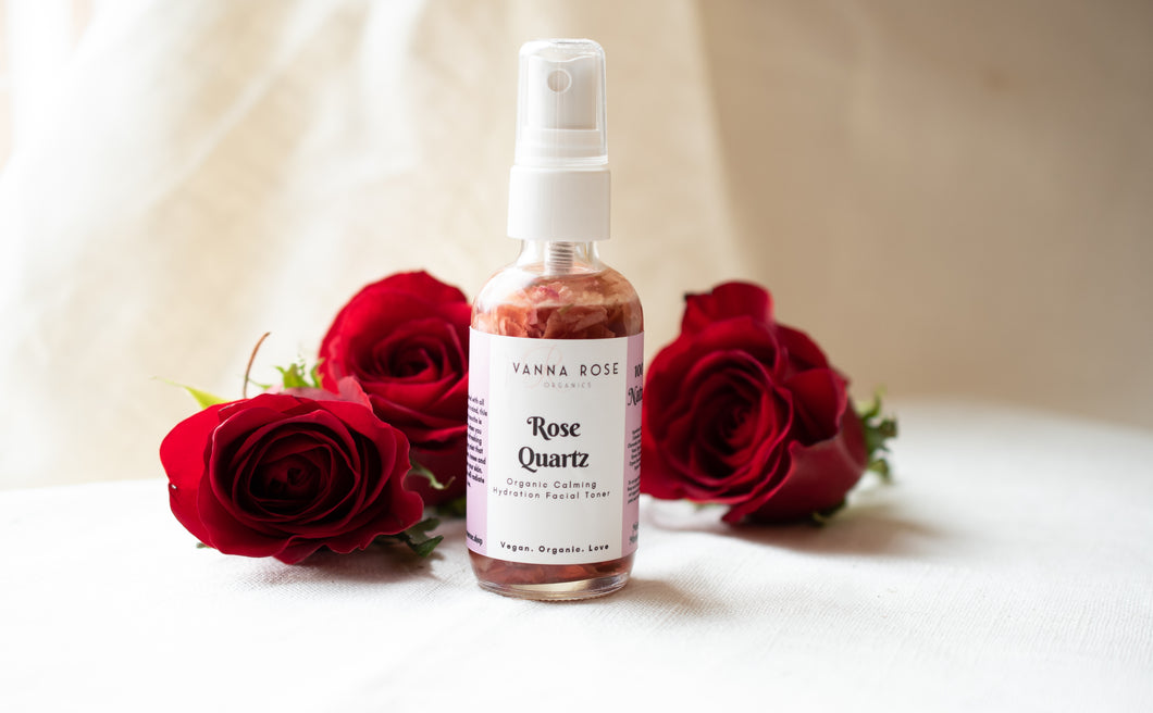 Organic Rose Quartz Toner