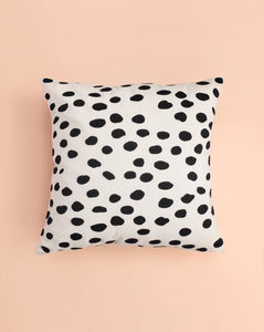 EMBROIDERED CUSHION COVER - DREAM DOTS