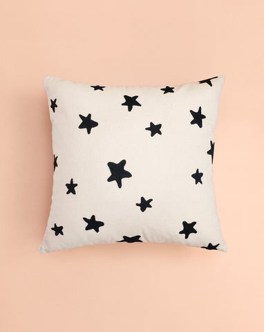 EMBROIDERED CUSHION COVER - YOU'RE A STAR
