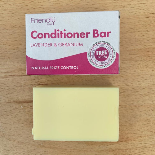Conditioning Bar - Lavender and Geranium