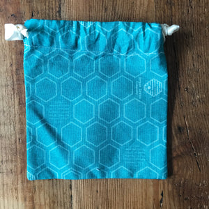 Draw String Bag- Honeycomb
