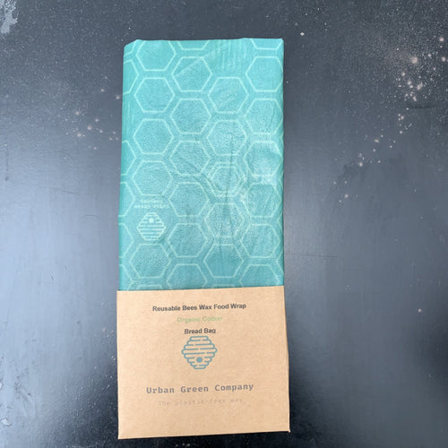 Bees Wax Bread Bag - Organic Cotton Honey Comb