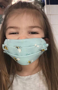 Child Face Mask  - Reusable & Washable