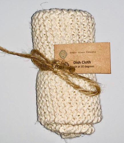Dish Cloth - Cream