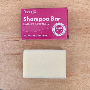Shampoo Bar - Lavender and Geranium
