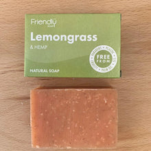 Load image into Gallery viewer, Lemongrass and Hemp Soap