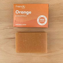 Load image into Gallery viewer, Orange and Grapefruit Soap