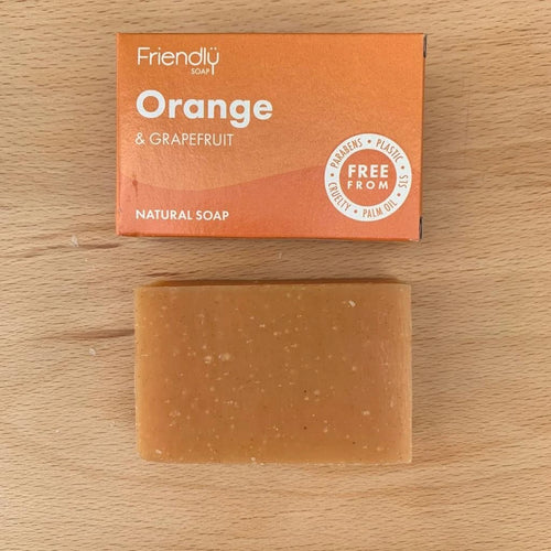 Orange and Grapefruit Soap