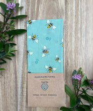 Load image into Gallery viewer, Bees Wax Bread Bags - Organic Cotton