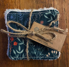 Load image into Gallery viewer, Eco Friendly Facial Pads, Reusable Facial Wipes, Make Up Remover Pads - Organic Cotton