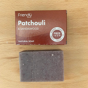 Patchouli and Sandalwood Soap