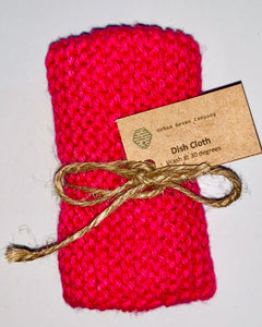 Dish Cloth - Pink