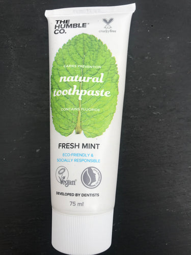 Natural Toothpaste with fluoride - Fresh Mint