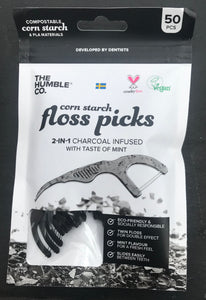 Natural Vegan Floss Picks