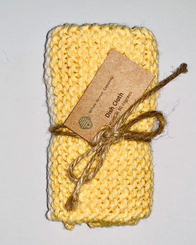 Dish Cloth - Yellow