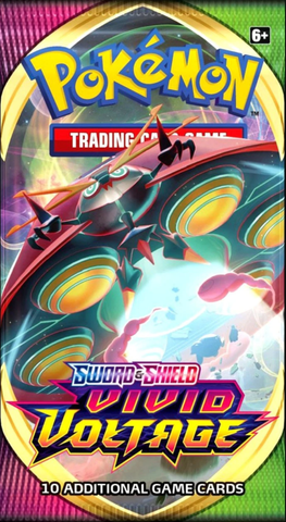 Pokemon: Sword & Shield- Vivid Voltage Booster Pack