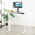 "UpliftOffice.com VIVO DESK-KIT-1W4W Electric 43"" x 24"" Standing  Desk, White Tabletop White Frame, desk,VIVO"