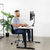 "UpliftOffice.com VIVO Electric 43"" x 24"" Standing Desk DESK-KIT-1B4W, White TableTop, Black Frame w/ Memory Pad Control, desk,VIVO"