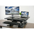UpliftOffice.com VIVO Black Electric Height-Adjustable Standing Desk Tabletop Monitor Riser, DESK-V000EE, Desk Riser,VIVO