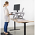 Uplift Office VIVO Height Adjustable Standing Desk Monitor Riser Tabletop Sit to Stand DESK-V000W, White, desk,Vivo