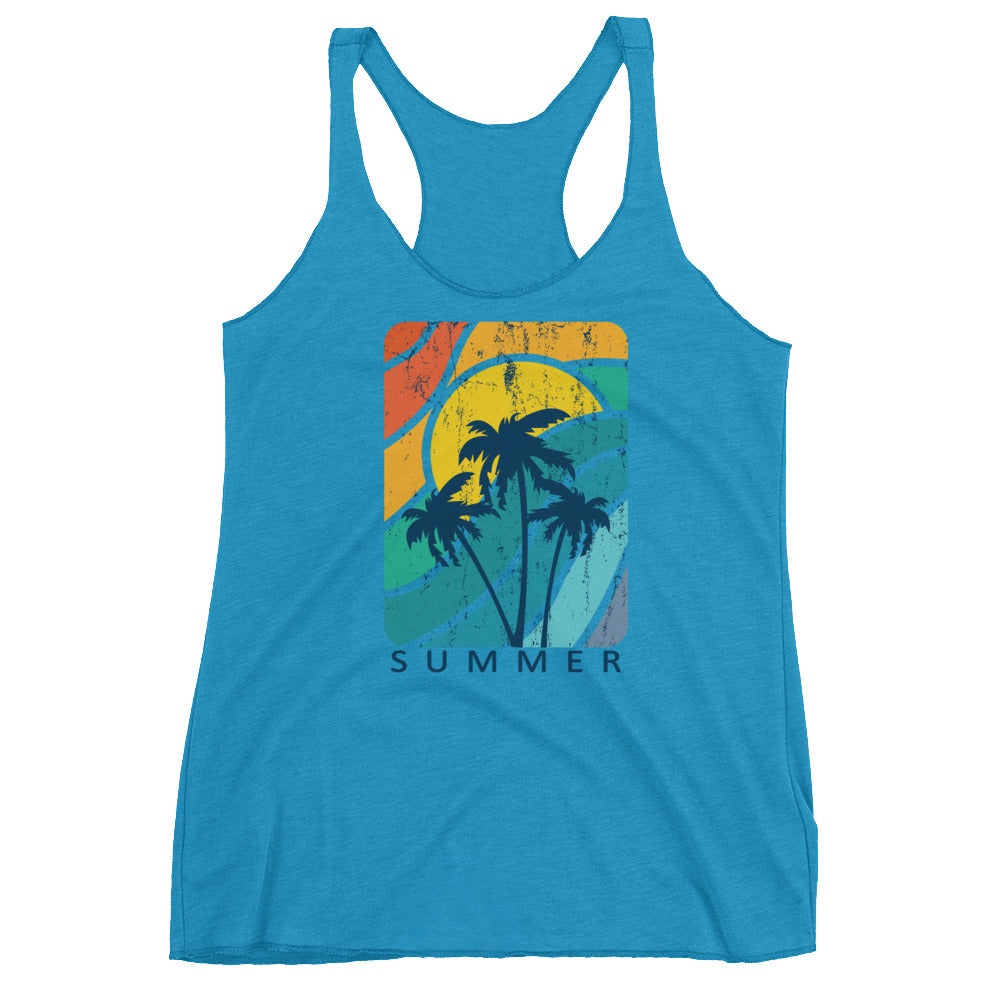 Summer Waves Women's Racerback Tank