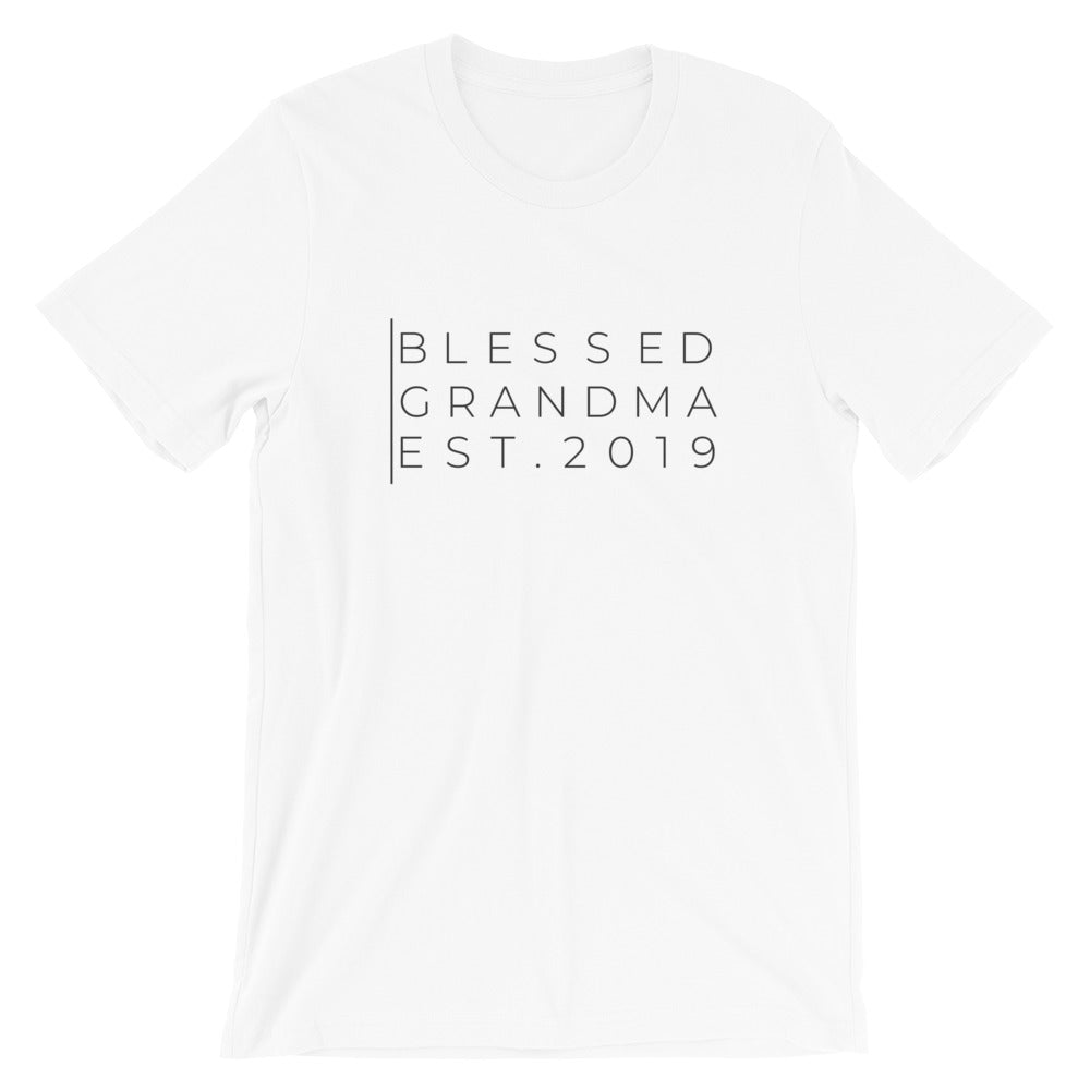 Personalized Blessed Grandma Women's T Shirt