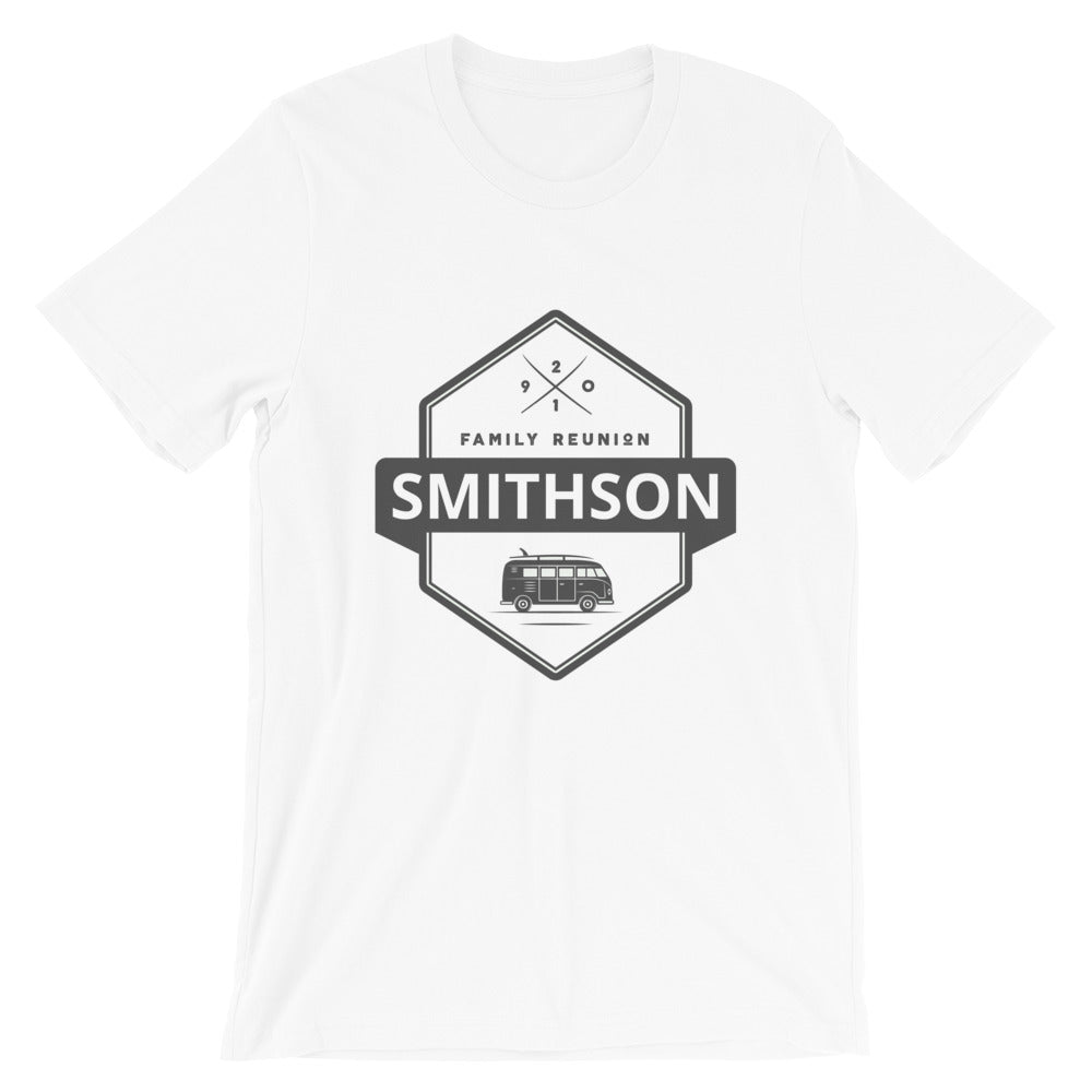 Personalized Family Reunion Van T Shirt