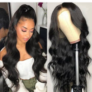 Top Virgin Body Wave 360 Lace Wig 150 Density with Baby Hair