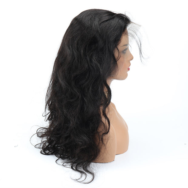 "Top Virgin Body Wave HD Frontal Wig Human Hair Wig 180 Density (16""-30"" Available)"