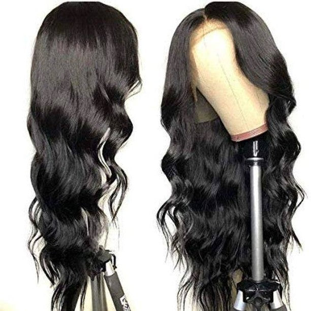 "Top Virgin 13x4 Body Wave Lace Front Transparent  Wig 150 Density with Baby Hair (18""-26"" Available)"