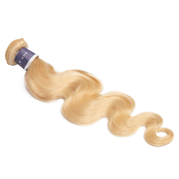 Top Raw Hair 613 Blonde Body Wave Extensions 1 Bundle