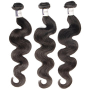 Top Raw Body Wave 3 Bundles with 13x4 Frontal