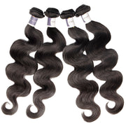 Top Raw Hair Body Wave Hair Extensions 4 Bundles