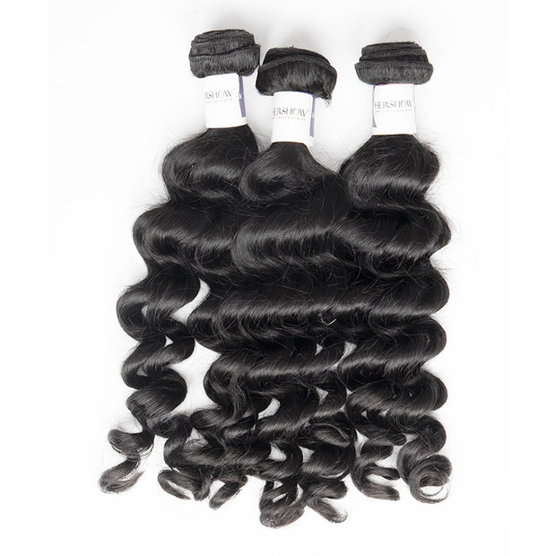 Top Raw Hair Loose Curly Hair Extensions 3 Bundles