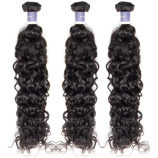 Top Raw Italian Curly 3 Bundles with 13x4 Frontal