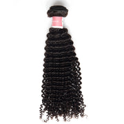Top Virgin Hair Kinky Curly Hair Extensions 1 Bundle